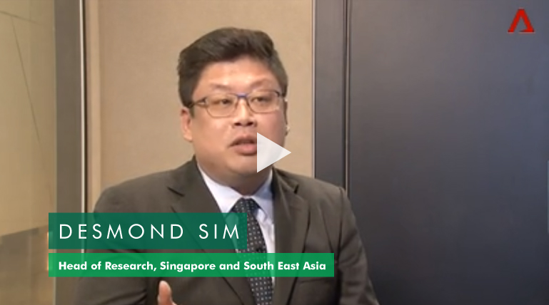 Desmond Sim, Head of Research for Singapore and South East Asia, discusses how developers are reacting to the new round of property cooling measures in Singapore (0:53 to 2:17).